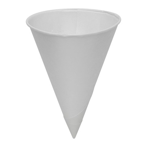 GP PRO Dixie® Paper Cone Cup, 4 oz , White (7014CDN)